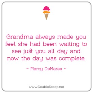 Exactly how grandmother made me feel!